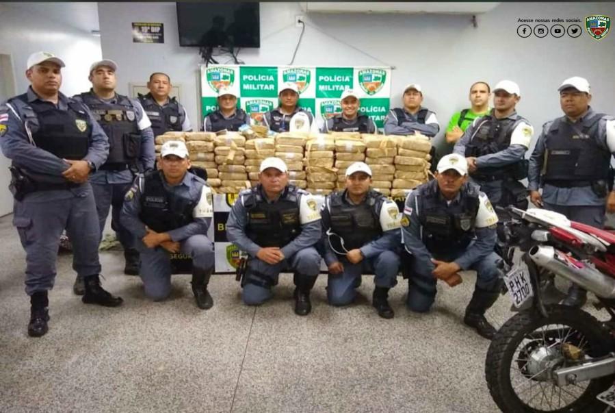 Policia Militar Drogas