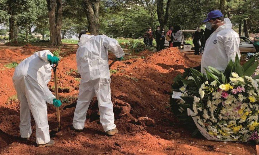 COVID 19 enterros