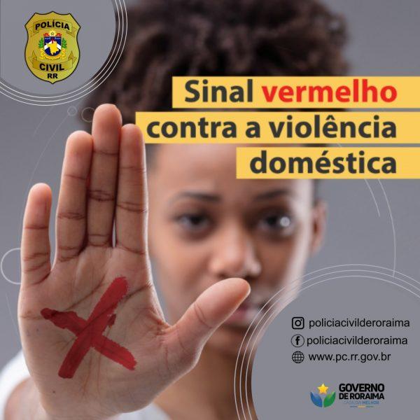 Polícia Civil de Roraima apoia campanha de ajuda às vítimas de violência doméstica | Foto: Divulgação