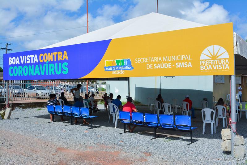 Covid em Roraima | Foto: SEMUC