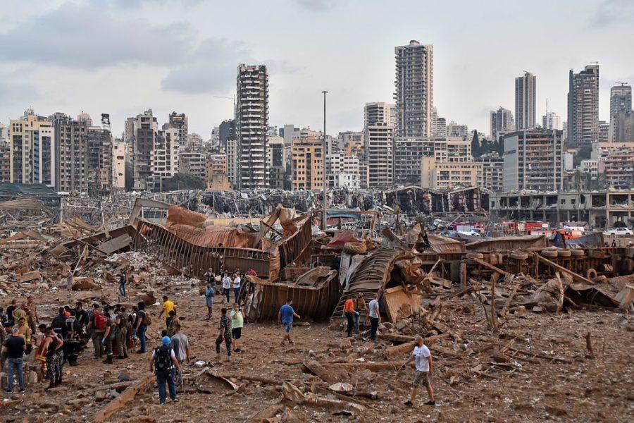 Explosão em Beirute   Foto: Internet
