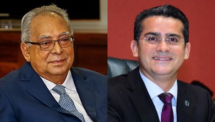 Amazonino Mendes e David Almeida | Foto: internet