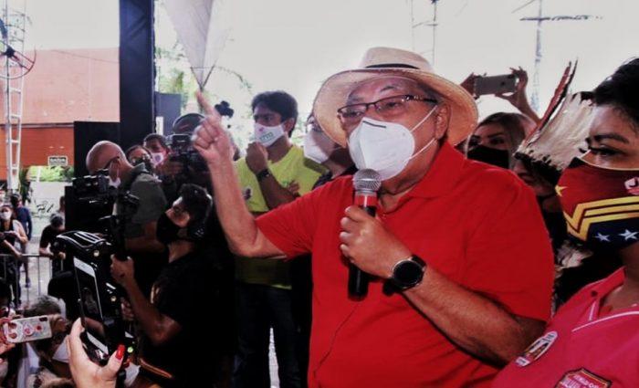 Eleições 2020 Amazonino Mendes   Crédito: Aguilar Abecassis