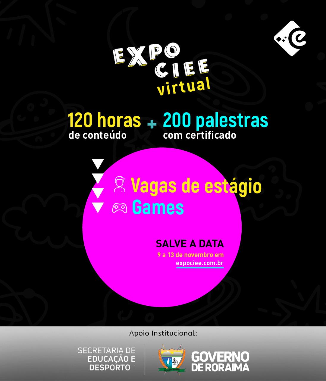 Expo CIEE. Imagem divulgação
