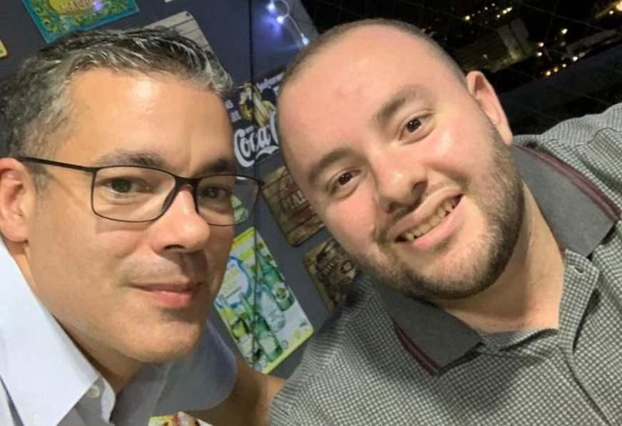 Fausto Jr e Josué Neto (PRTB-AM) | Foto: Internet