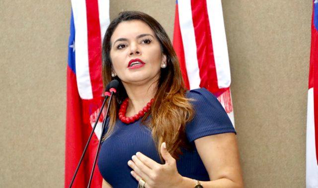 Deputada Estadual Alessandra Campelo (MDB-Am)   Foto: Assessoria