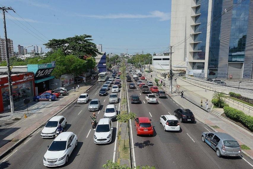 Trânsito Manaus   Foto: Detran-AM