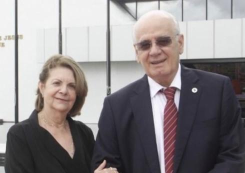 Dona Lydia Corrêa e Serafim Corrêa   Foto: Reprodução