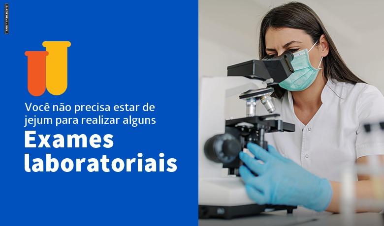 HAPVIDA Exames Laboratoriais | Foto: Divulgação