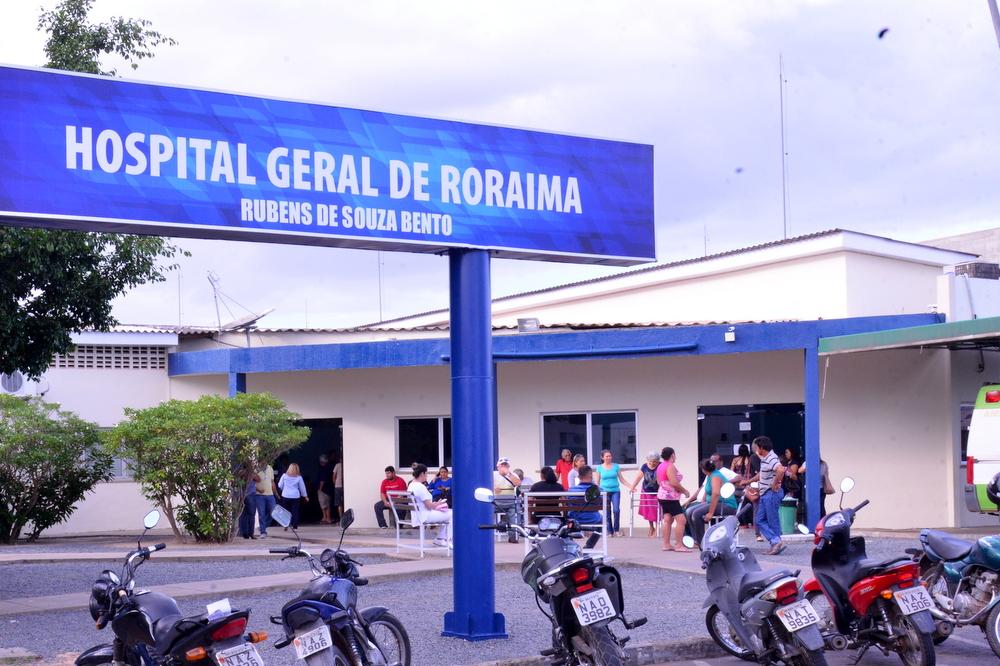 Hospital em Roraima. Imagem: Ascom/Sesau