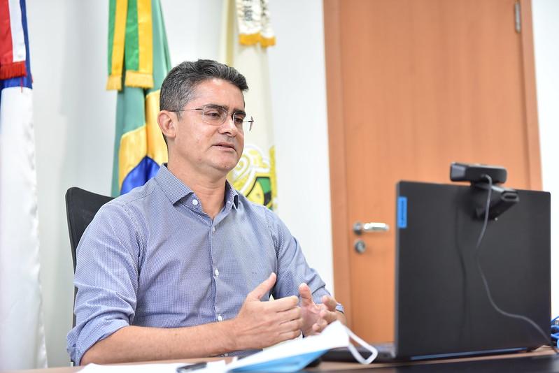 Prefeito de Manaus David Almeida | Foto: Dhyeizo Lemos