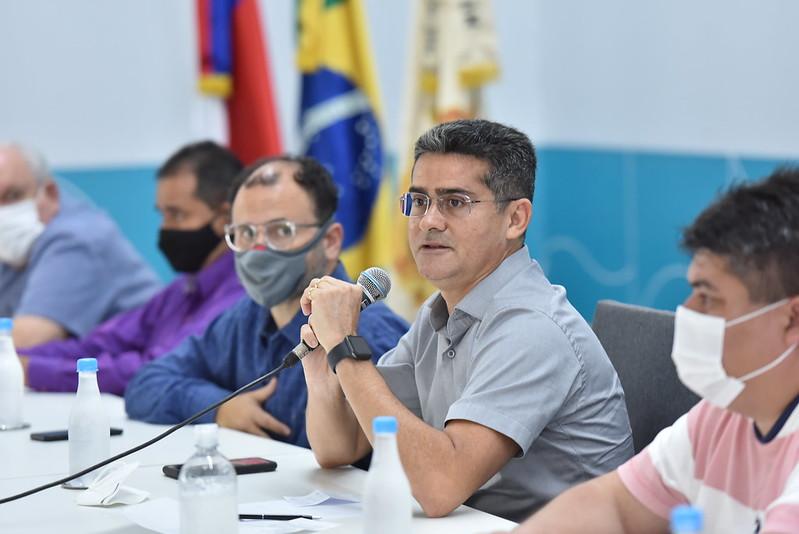 Prefeito de Manaus David Almeida | Foto: SEMCOM