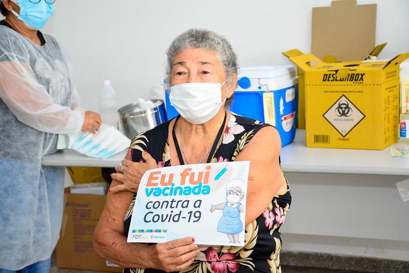 Vacinação Covid-19 | Foto – Valdo Leão / Semcom