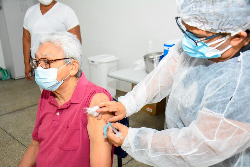 Prefeitura de Manaus | Covid-19 | Vacinação | Foto: Valdo Leão / Semcom
