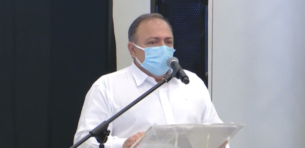 Ministro Eduardo Pazuello | Foto: reprodução