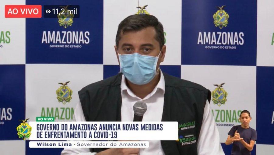 Governador do Amazonas Wilson Lima | foto: reprodução