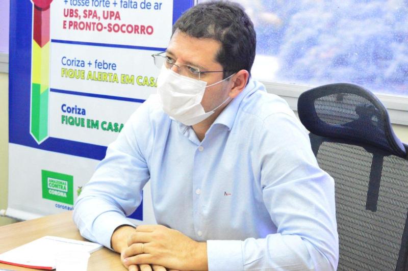 Secretário Marcellus Campêlo | SES-Am | Foto: Arquivo