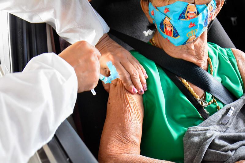 Vacinação Covid-19 Prefeitura de Manaus SEMSA | Foto: Valdo Leão