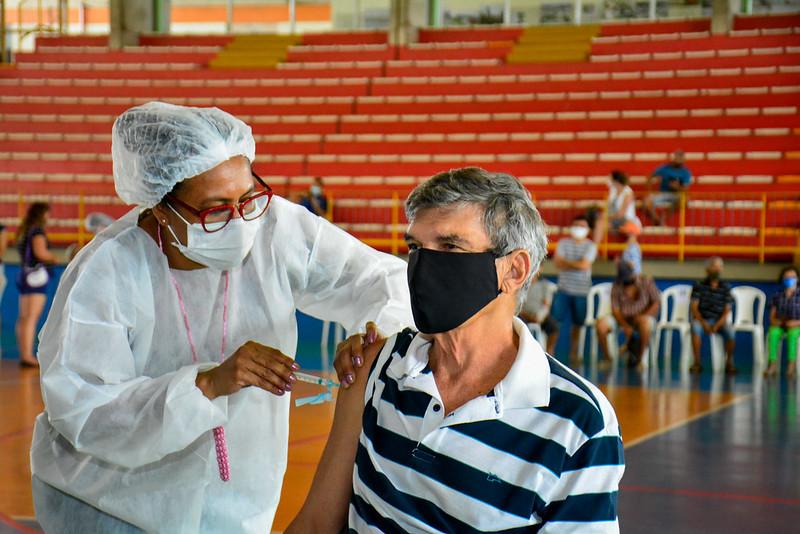 Vacinação | Covid-19 | Fotos – Valdo Leão / Semcom