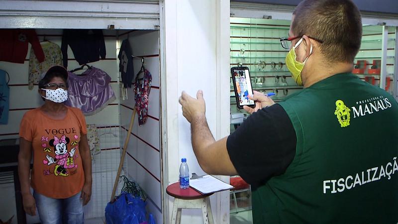 Prefeitura de Manaus | recadastramento dos permissionários | Fotos – Juan Pablo / Semcom