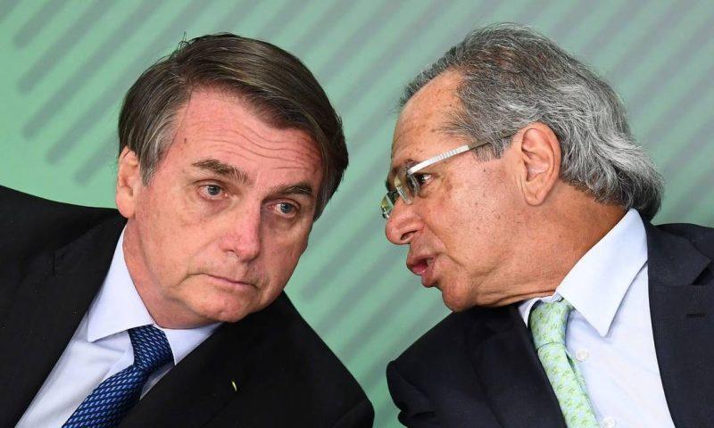 Jair Bolsonaro e Paulo Guedes | Foto: Internet