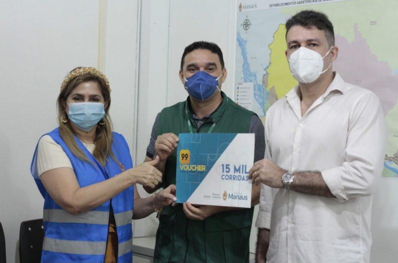 Fundo Manaus Solidária e 99 | Fotos - Marcely Gomes