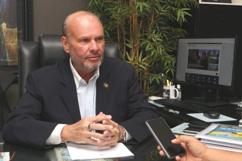 Presidente TCE-AM Mário de Mello | Foto; ascom