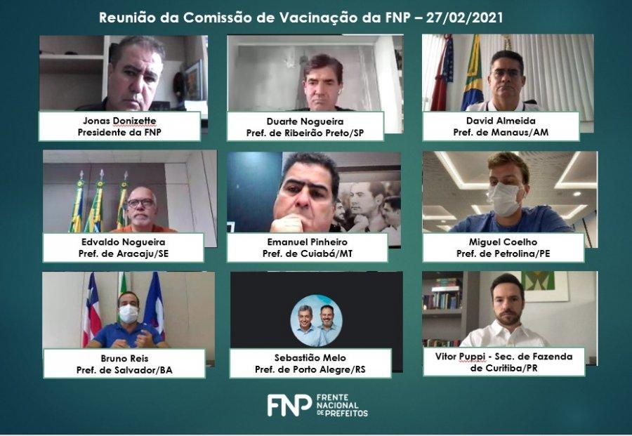 Reunião FNP | Foto: reprodução