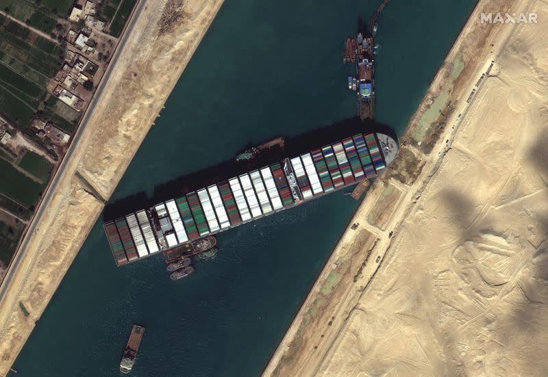Canal de Suez | Foto: Foto: reuters