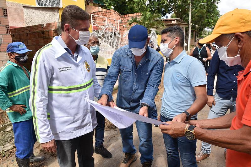 Prefeito de Manaus, David Almeida e vice-prefeito de Manaus, Marcos Rotta   Foto: Dheizo Lemos/Semcom