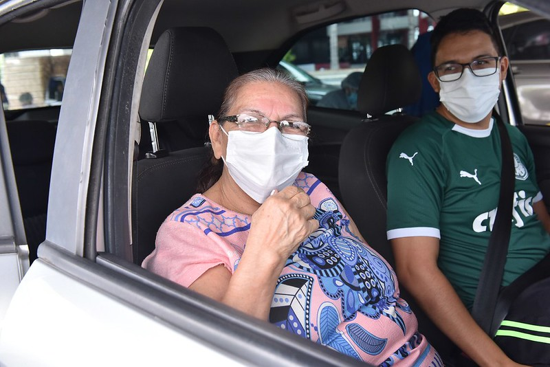 Vacinação Manaus | Foto: Dhyeizo Lemos / Semcom