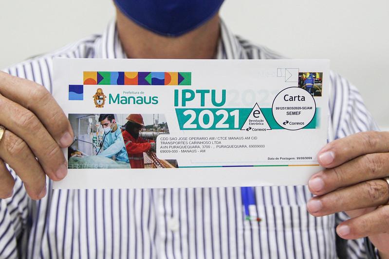 IPTU SEMEF | Foto: João Viana e Marcely Gomes