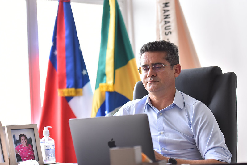 Prefeito de Manaus David Almeida | Fotos – Dhyeizo Lemos
