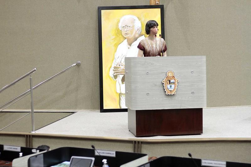 Homenagem ao Poeta Thiago de Mello | Foto: Altemar Alcântara / Semcom
