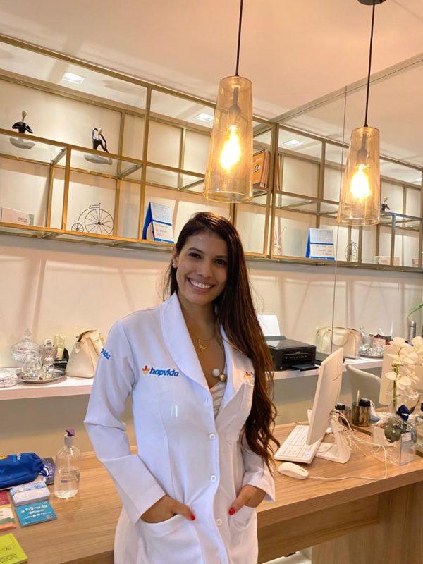 Médica endocrinologista do Sistema Hapvida, Dra. Natasha Vilanova Dinardi | Foto: Ascom