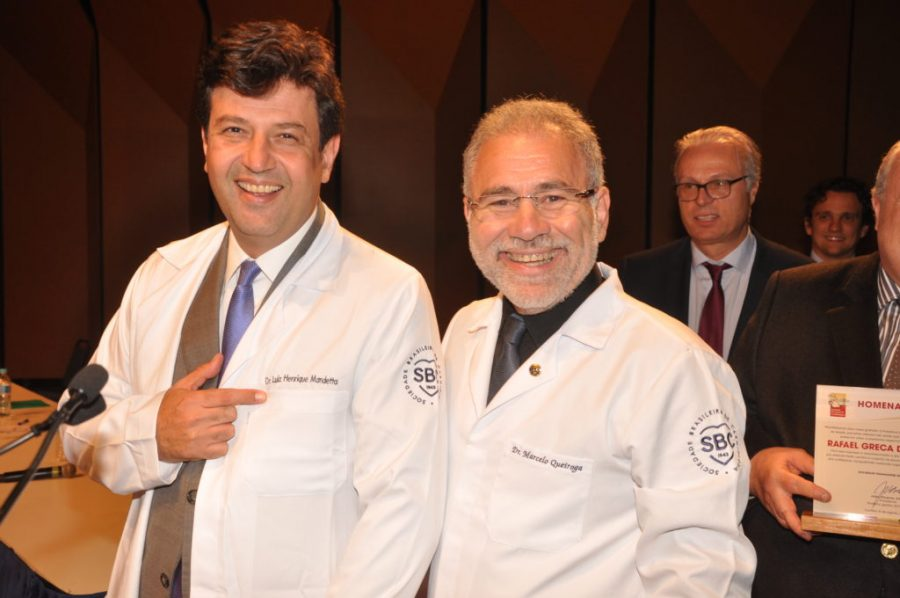 Dr. Marcelo Queiroga e Dr. Luiz Henrique Mandetta | Foto: Internet