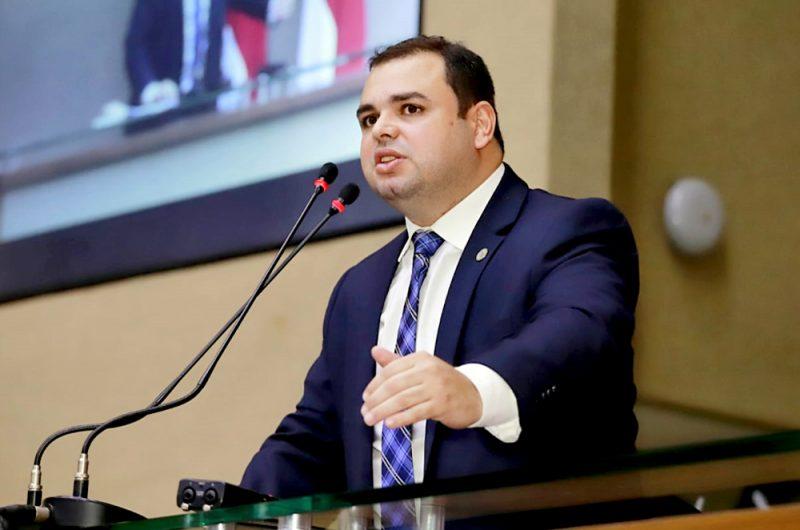Presidente da ALEAM deputado Roberto Cidade   Foto: Evandro Seixas