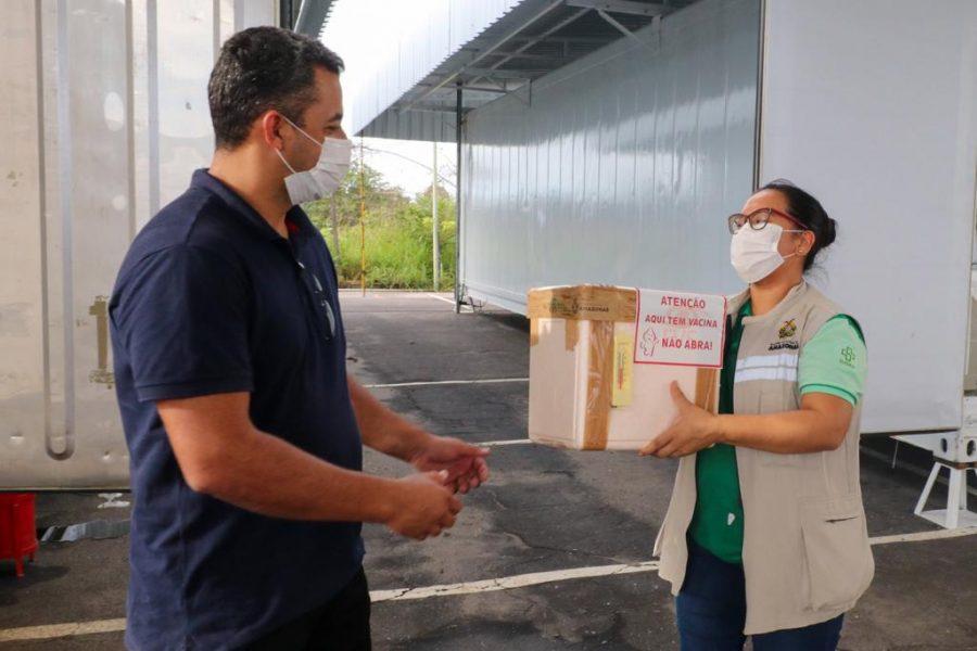 Vacinação para Interior do Amazonas | Foto: Arthur Castro