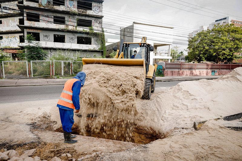 Avenida Djalma Batista David   Foto: Osmar Neto / Seminf