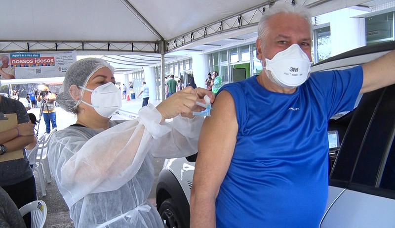 Prefeitura de Manaus Vacinação Covid-19 | Foto: Lucas Andrade/Semcom