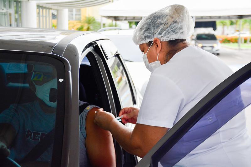 Vacinação Covid-19 | Foto: Valdo Leão / Semcom