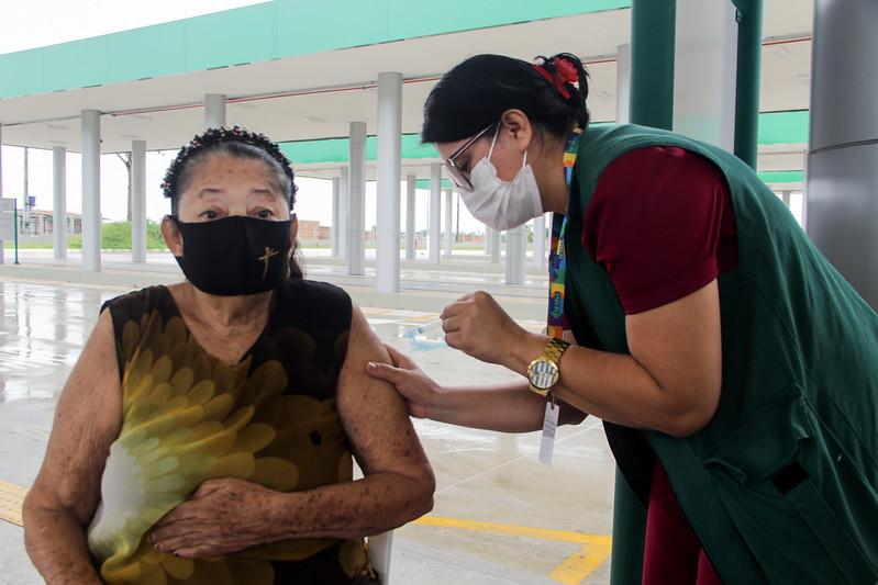 Vacinação Manaus | Covid-19 \ Foto: João Viana