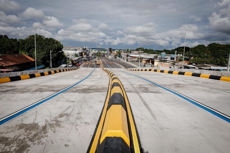 Viaduto do Manoa   Prefeitura de Manaus   Foto: Ruan Souza, Altemar Alcântara / Semcom e Osmar Neto / Seminf