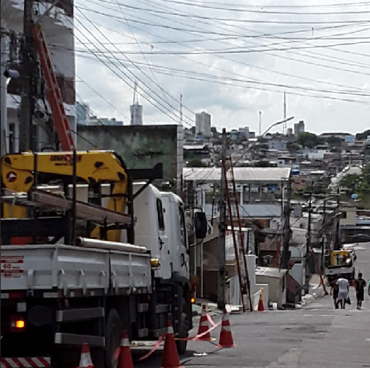 Amazonas Energia bairro da Glória | Foto: Ascom