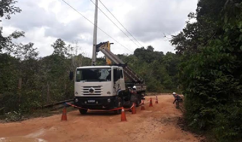 Amazonas Energia BR-174 | Foto: Ascom