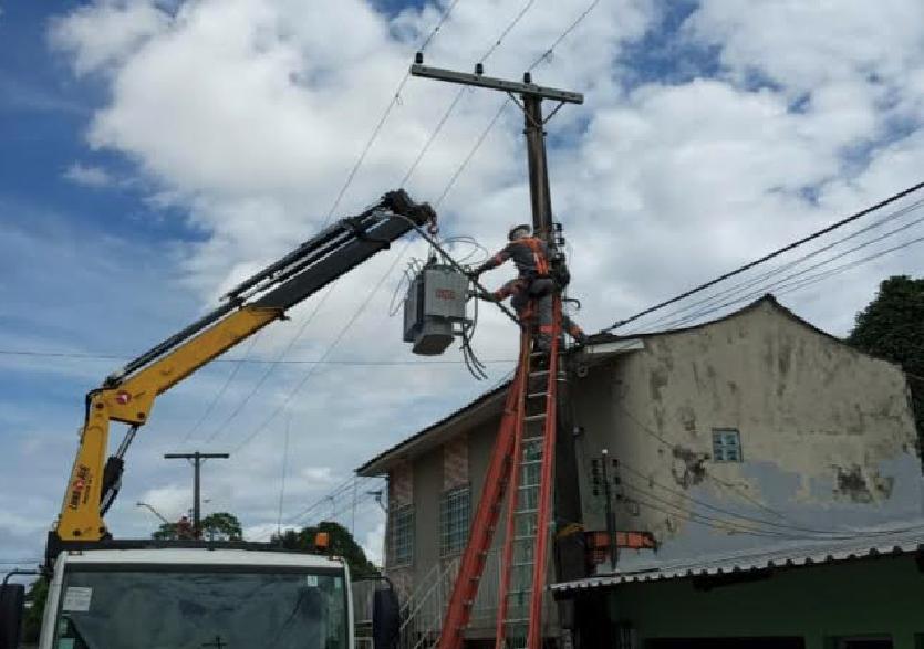 Amazonas Energia Cidade Nova   Foto: Ascom