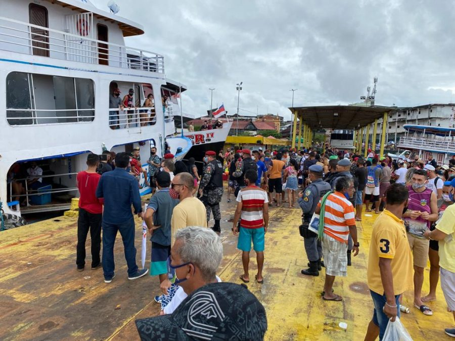 Embarcação lotada | Foto: Divulgação / Arsepam