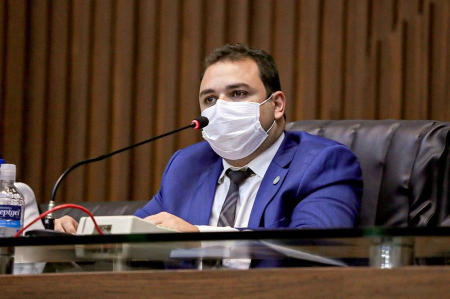 Presidente da ALEAM, Roberto Cidade | Foto: Ascom