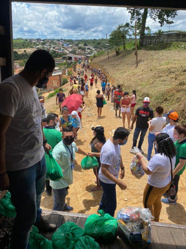 "Projeto ""Energia Solidária"" da Amazonas Energia | Foto: Ascom"
