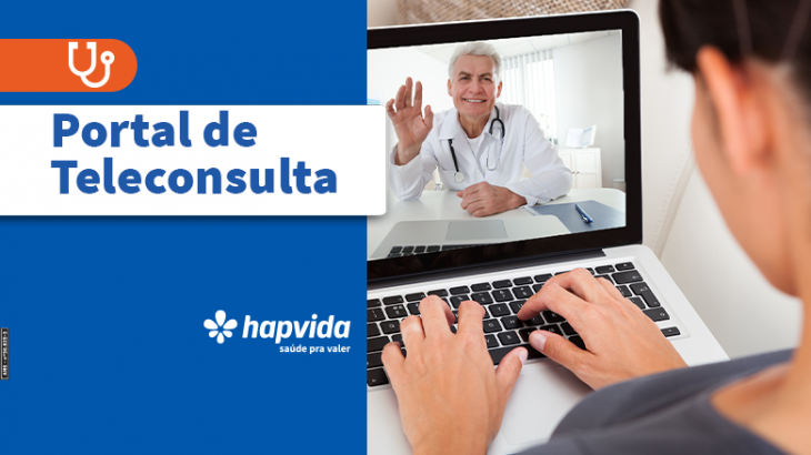 Portal de Teleconsulta Hapvida | Foto: Divulgação